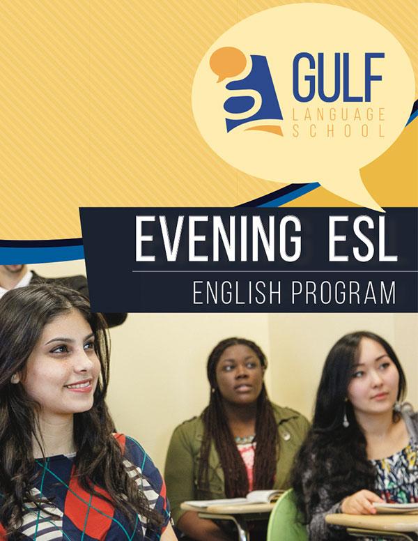 Evening ESL brochure