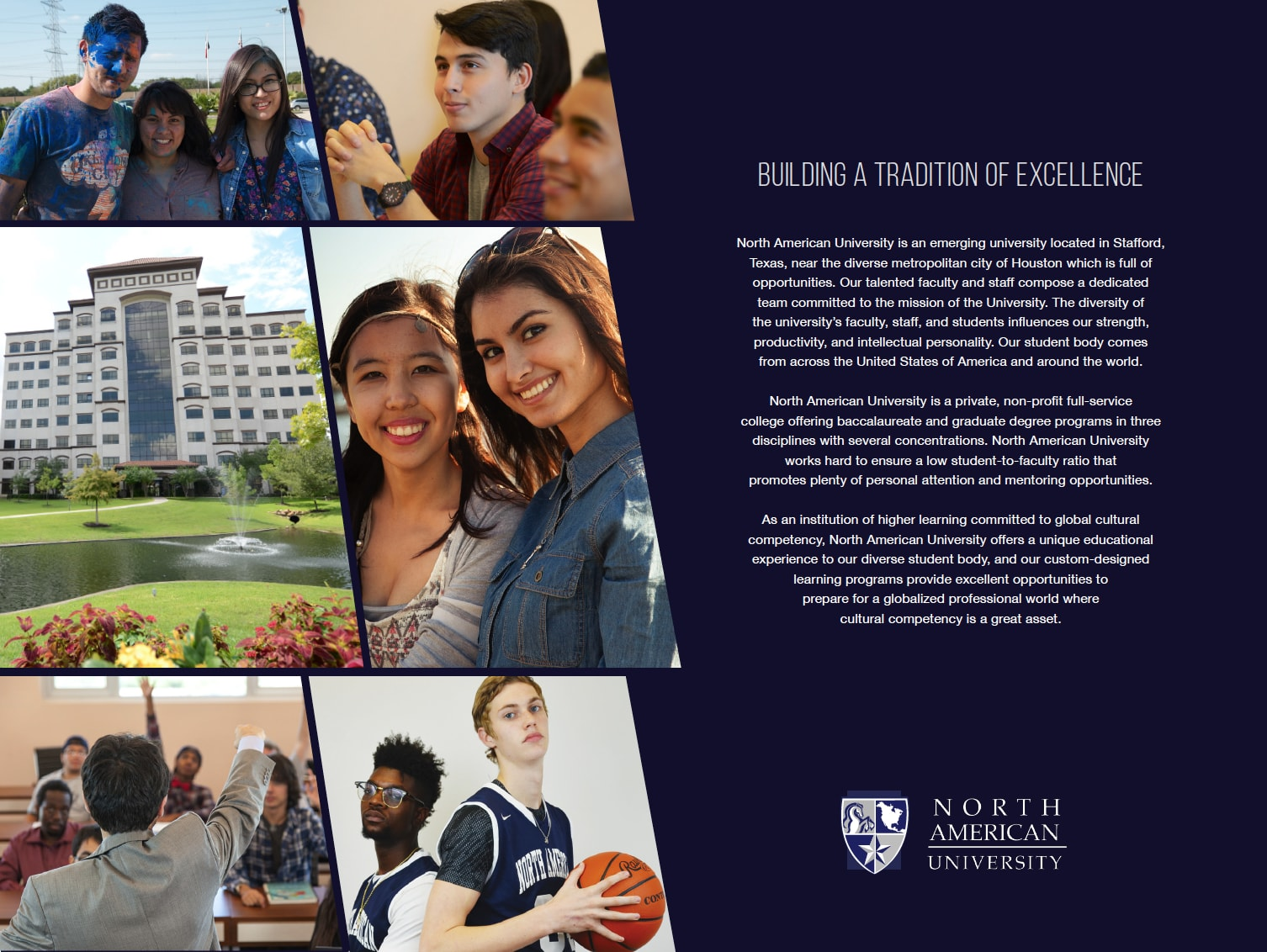 brochures find out more information about north american university