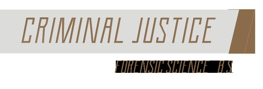 criminal justice NAU