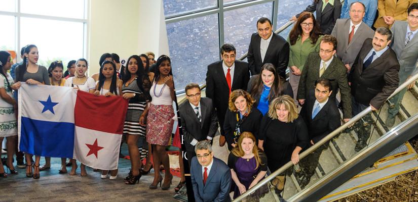 Meduca Panama Officials Visit Campus