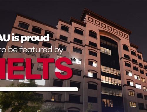 NAU featured by IELTS USA