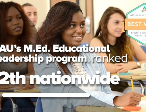 NAU's M.Ed. program ranks 12th in U.S.