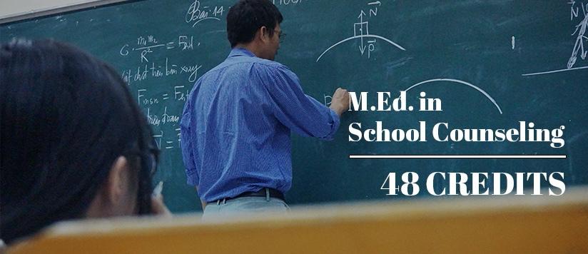 M.Ed. School Counseling