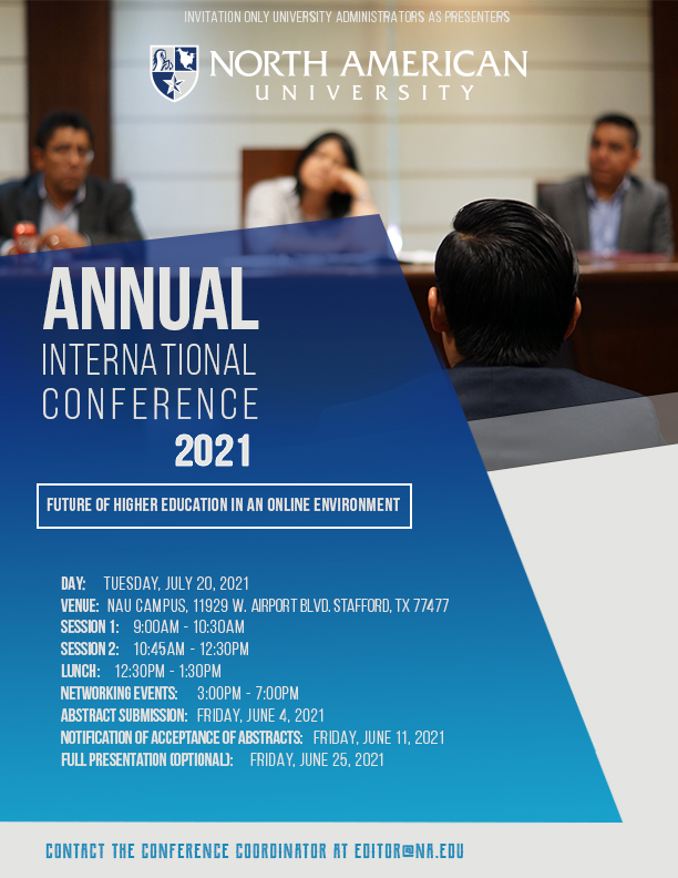 Annual International Conference 2021