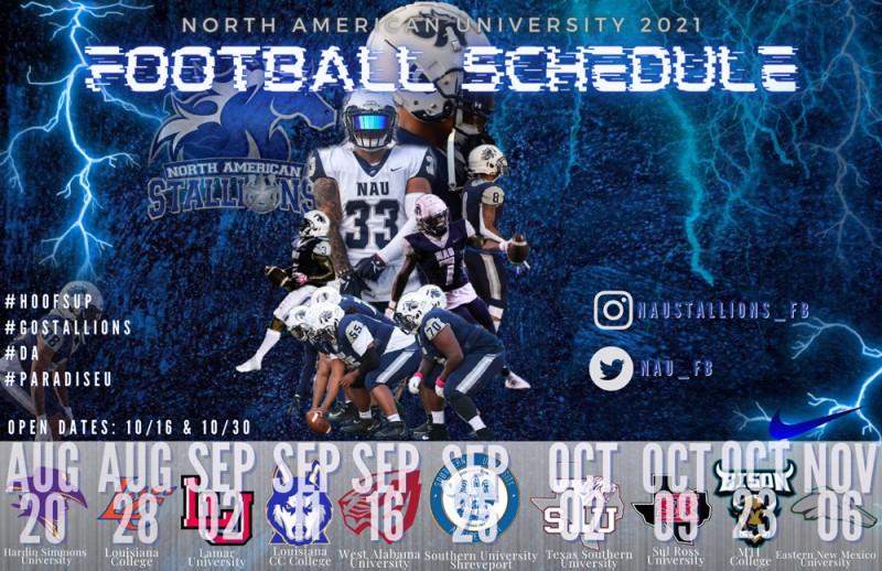 NAU football schedule